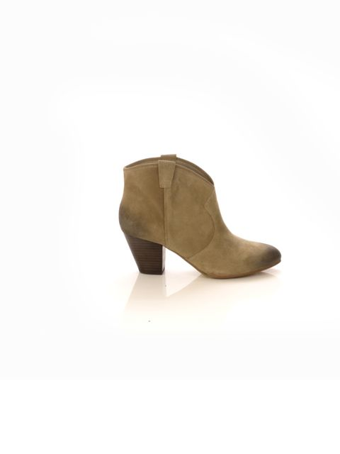 "<p>No matter how stylish your look is, you still need to get from A to B. So you'll be pleased to know that the low-heel ankle boots is still the favoured spring footwear… Ash suede ankle boots, £145, at <a href=""http://www.urbanoutfitters.co.uk/ash-taupe"