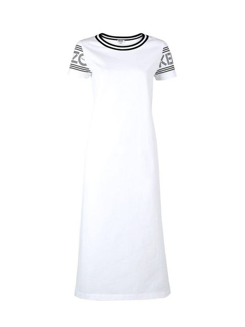 "<p>Kenzo T-Shirt Dress, £140 at <a href=""http://www.veryexclusive.co.uk/kenzo-slogan-arm-t-shirt-dress-white/1600041145.prd"" target=""_blank"">veryexclusive.co.uk</a></p>  <p>Day: Pair with an oversized open <a href=""http://www.veryexclusive.co.uk/won-hundr"