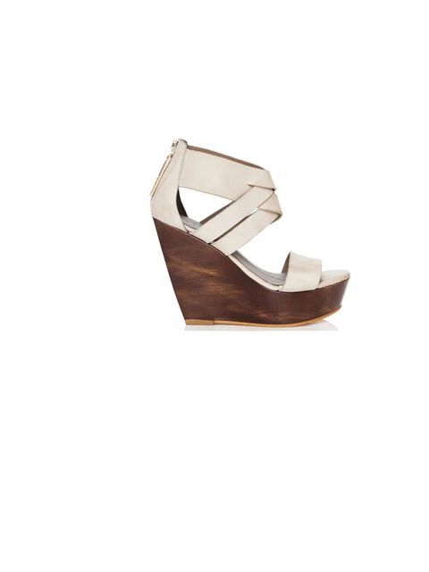 "<p>Finsk chunky wedges, £380, at <a href=""http://www.thebeachtomatoshack.com/store/view/finsk-cream-chunky-wooden-wedges/?Pid=291&CategoryId=3"">The Beach Tomato Shack</a></p>"