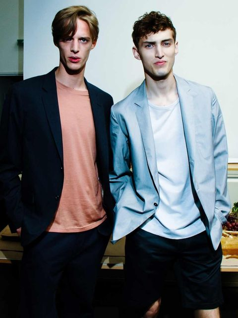<p>Margaret Howell SS13 at London Collections: Men, June 2012</p>