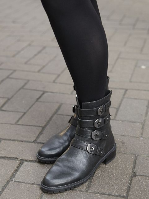 Lorraine Candy – Editor in Chief. Stuart Weitzman boots.