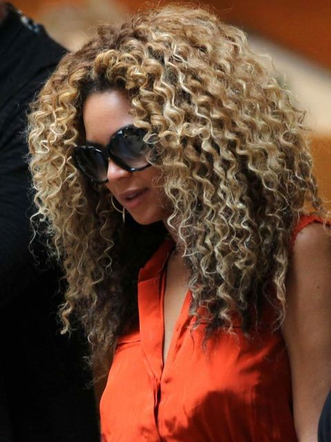 <p>If you have very tight curls do as Beyonce does and don't fight it, instead work with your natural texture. Prep hair with Trevor Sorbie Curl Defining Shampoo and Conditioner [£5.10 each], towel dry and then work through a small amount of Aveda Be Curl