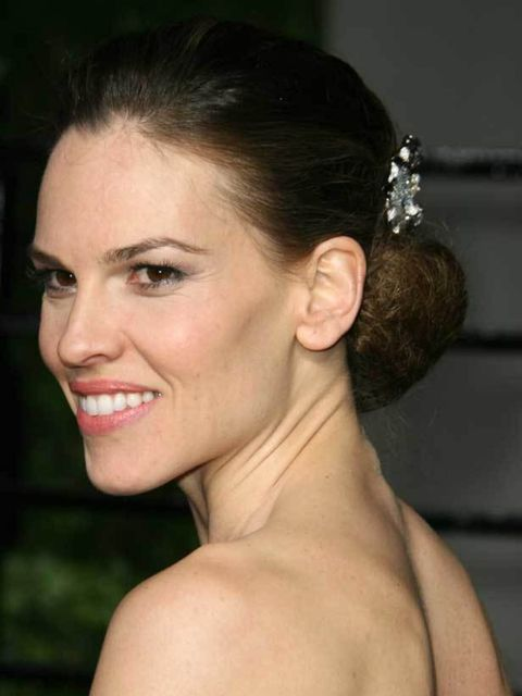 "<p><a href=""http://www.elleuk.com/starstyle/red-carpet"">Hilary Swank at the 2011 Oscars</a></p>"