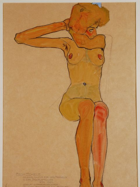 <p><strong>EXHIBTION: Egon Schiele: The Radical Nude</strong></p>