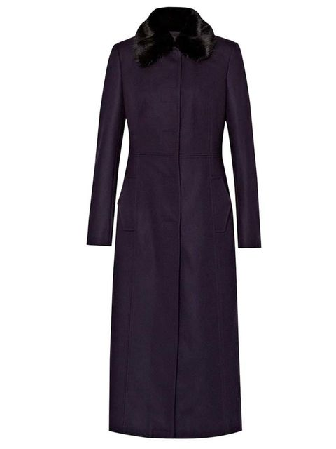 "<p>Sub-editor Claire Sibbick is wrapping up in this <a href=""http://www.frenchconnection.com/product/Woman+Collections+Coats+And+Jackets/70CAB/Platform+Felt+Maxi+Coat.htm"" target=""_blank"">French Connection</a> coat, £199.</p>"