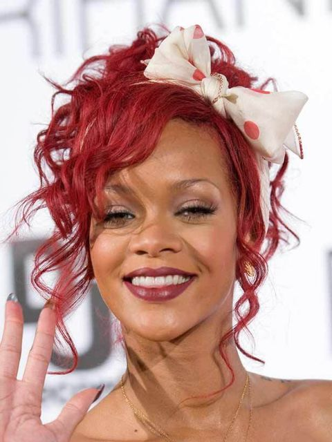 """<p><a href=""""http://www.elleuk.com/beauty/beauty-notes-daily/rihanna-turns-up-the-volume"""">What do you think of Rihanna's latest hairstyle? Click here to join the debate...</a></p>"""