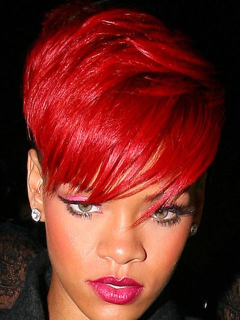 "<p>Rihanna's red hair makes quite a statement. When ELLE spoke to her make-up artist <a href=""http://www.elleuk.com/news/Beauty-News/rihanna-s-beauty-secrets-revealed"">Karin Darnell</a> to ask why she chose to go bold, Karin explained ""She has been dying"