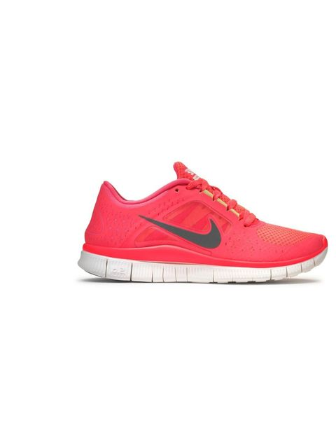 """<p><strong><a href=""""http://store.nike.com/gb/en_gb/"""">Nike</a> Free Run +3, £80 or £95 for iD</strong></p><p><strong>Weight:</strong> around 198g for the pair</p><p><strong>Pros:</strong> The laces tie up at a slight angle for an extra snug, glove-like fit"""