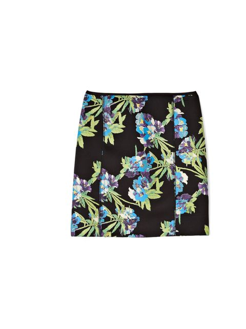 "<p>Elizabeth & James scuba floral skirt, £,275 at My-Wardrobe</p><p><a href=""http://shopping.elleuk.com/browse?fts=elizabeth+%26+james+scuba+skirt"">BUY NOW</a></p>"