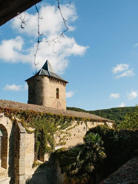 Deciding to get married in France wasn't exactly a hardship, but finding the right venue proved more difficult. We wanted to get married in France, mainly because my mum and step-dad have a house just outside of Carcassonne, but also because we feel so re