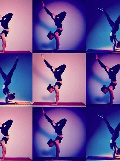"<p><a href=""https://instagram.com/iamjessicaskye/"">@iamjessicaskye</a> aka DJ Yoga</p>  <p>When she's not teaching yoga, Jessica Skye moonlights as a DJ at Shoreditch House. She's also an NTC trainer for Nike.</p>  <p>Fact: The ELLE team are all smitten.<"