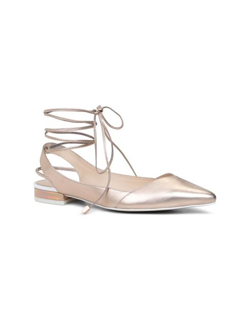 "<p><a href=""http://www.aldoshoes.com/uk/en_UK/women/new-arrivals/c/101/AEANIEL/p/37562090-86#"" target=""_blank"">Aldo</a> strappy flat shoes, £70</p>"