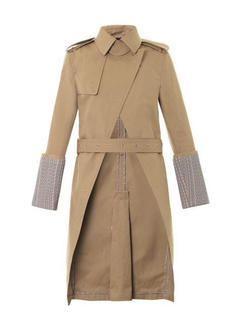 """<p>Return of the mac.</p><p>Coat £1,131 at <a href=""""http://www.matchesfashion.com/product/190514"""">Matches.</a></p>"""