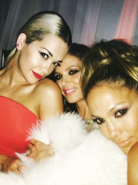 Rita Ora (@ritaora)  'Pure beauties @jlo @georginachapmanmarchesa'