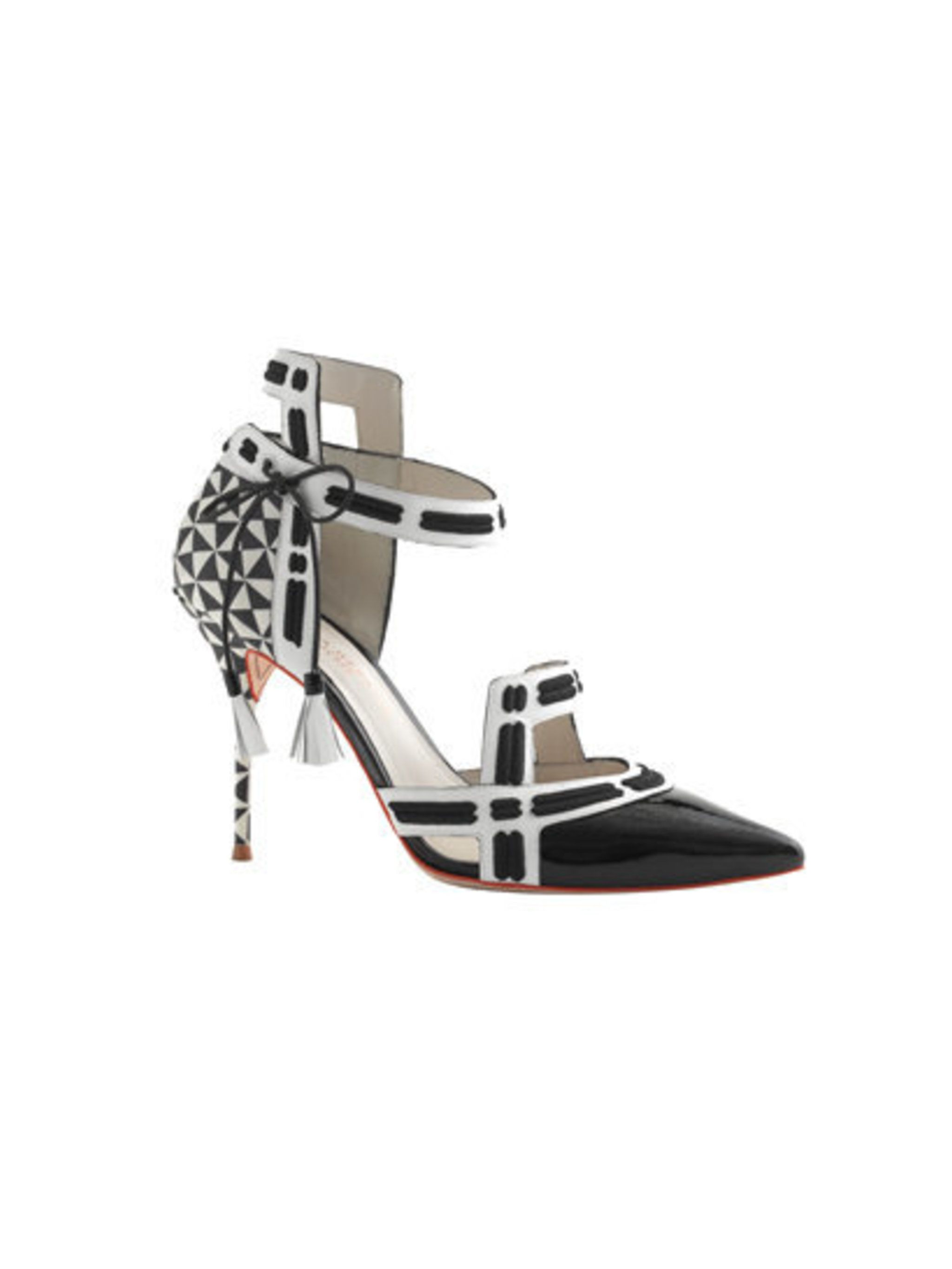 <p>Monochrome sandals, £540</p>