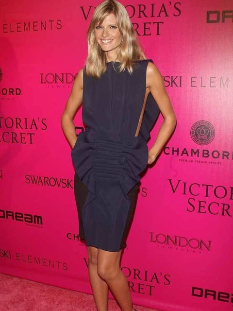 """<p>Julia Stegner at the <a href=""""http://www.elleuk.com/news/star-style-news/angels-in-clothes"""">Victoria's Secret After Party</a></p>"""