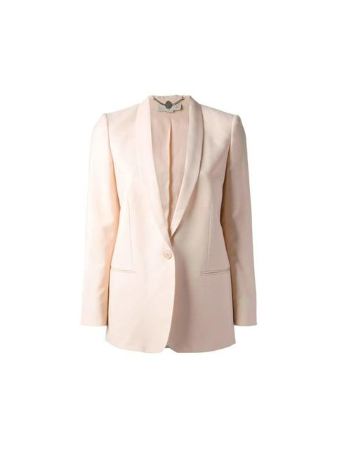 "<p>A pastel blazer will add the elegant edge to the outfit,</p><p>Stella McCartney, £1000 available at <a href=""http://www.farfetch.com/uk/shopping/women/stella-mccartney-mattea-jacket-item-10609765.aspx?storeid=9129&ffref=lp_9_"">Farfetch</a></p><p><e"