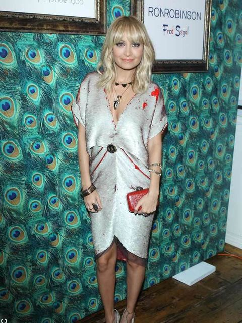 """<p><a href=""""http://www.elleuk.com/starstyle/style-files/(section)/nicole-richie"""">Nicole Richie</a> wearing <a href=""""http://www.elleuk.com/content/search?SearchText=halston&SearchButton=Search"""">Halston</a> at the opening of the <a href=""""http://www.elle"""