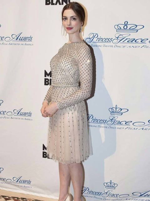 "<p><a href=""http://www.elleuk.com/starstyle/style-files/(section)/anne-hathaway"">Anne Hathaway</a> wearing a <a href=""http://www.elleuk.com/catwalk/collections/valentino/couture-aw-2011"">Valentino Couture</a> dress with <a href=""http://www.elleuk.com/cont"