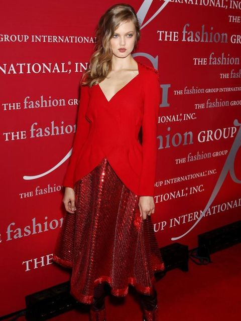 """<p><a href=""""http://cms.elleuk.com/content/search?SearchText=Lindsey+Wixon&SearchButton=Search"""">Lindsey Wixon</a> opted for <a href=""""http://www.elleuk.com/catwalk/collections/rodarte/"""">Rodarte</a> at the The Luminaries' 28th Annual Night Of Stars in Ne"""
