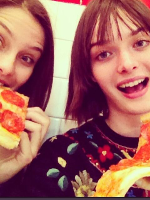 <p>She's the Brit-model that doesn't take herself too seriously. Pictured here with BFF @charlottewiggins (also worth a follow).</p>  <p>@samrollinson</p>