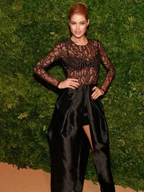 """<p><a href=""""http://www.elleuk.com/news/fashion-news/victoria-s-secret-our-view-from-the-front-row"""">Victoria's Secret</a> angel <a href=""""http://www.elleuk.com/content/search?SearchText=Doutzen+Kroes&SearchButton=Search"""">Doutzen Kroes</a> headed up the"""