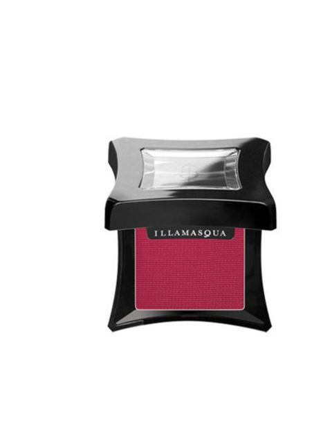 "<p>With <a href=""http://www.illamasqua.com/shop/products/eyes/eye-shadows/powder-eye-shadows/daemon-powder-eye-shadow"">Illamasqua</a> Powder Eye Shadow in Daemon, £15.50. And don't forget your black liquid liner...</p>"