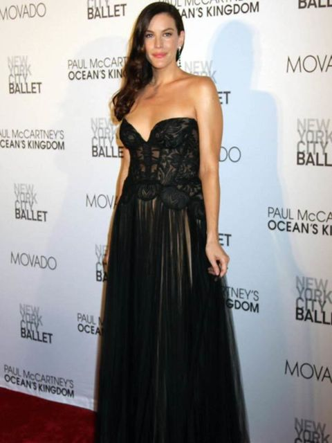 "<p><a href=""http://www.elleuk.com/starstyle/style-files/(section)/liv-tyler"">Liv Tyler</a> at Lincoln Center for the premiere of Paul McCartney's new ballet.</p>"