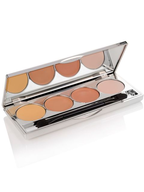 """<p>One palette that has everything you need to conceal any dark circle or blemish. The four-piece set complete with brush includes Colour Correcting Concealer, Under Eye Concealer, Blemish Concealer and a Setting Powder. All for £12, good work <a href=""""ht"""