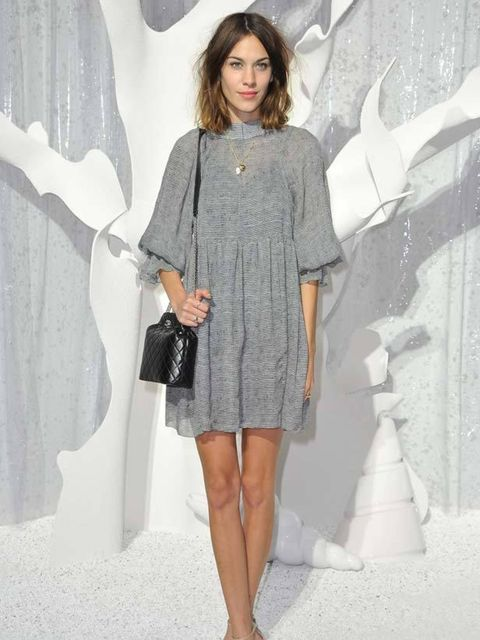 """<p>ELLE favourite <a href=""""http://www.elleuk.com/starstyle/style-files/(section)/alexa-chung"""">Alexa Chung</a> front row at the Chanel Spring/Summer 2012 show, 4 October 2011</p>"""