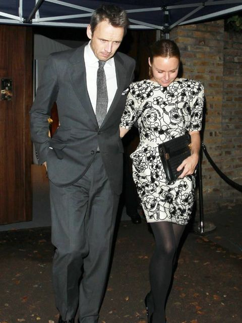 "<p><a href=""http://www.elleuk.com/catwalk/collections/stella-mccartney/autumn-winter-2011/review"">Stella McCartney</a> and husband attended the wedding of Paul McCartney and Nancy Shevell in London, October 2011.</p>"
