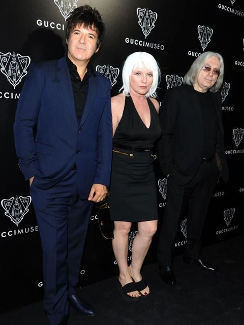 """<p>Blondie performed at the <a href=""""http://www.elleuk.com/catwalk/collections/gucci/"""">Gucci</a> Museum Opening with bandmates Clem Burke &amp&#x3B; Chris Stein, 26 September 26, 2011</p>"""