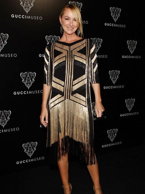 """<p><a href=""""http://www.elleuk.com/content/search?SearchText=Frida+Giannini&amp&#x3B;SearchButton=Search"""">Frida Giannini</a> in <a href=""""http://www.elleuk.com/catwalk/collections/gucci/"""">Gucci</a> at her houses' museum opening, 26 September 26, 2011</p>"""