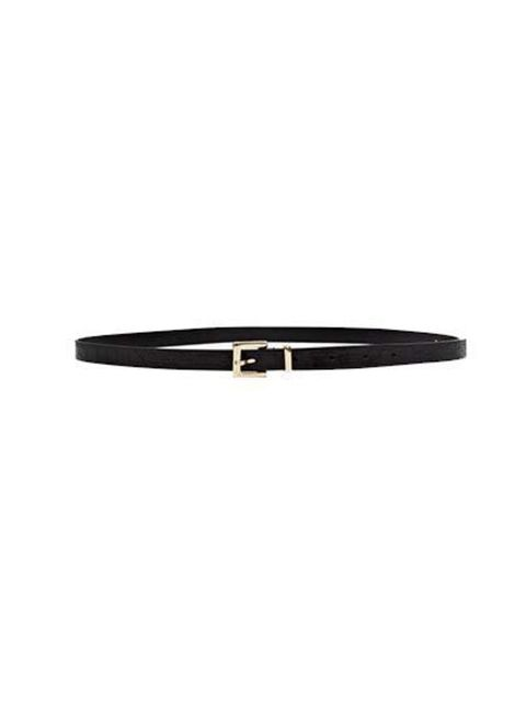 """<p><a href=""""http://www.frenchconnection.com/product/Woman+New+In/SCCAC/Felix+Skinny+Leather+Belt.htm"""">French Connection</a> belt, £30</p>"""