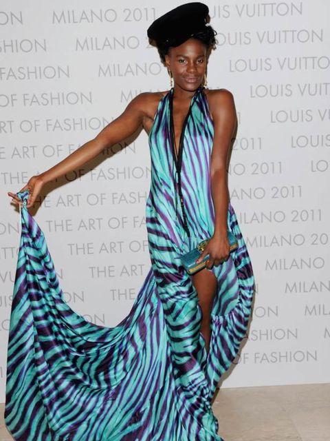 """<p>Noisette's frontwoman <a href=""""http://www.elleuk.com/content/search?SearchText=Shingai+Shoniwa&amp&#x3B;SearchButton=Search"""">Shingai Shoniwa</a> wearing a <a href=""""http://www.elleuk.com/catwalk/collections/louis-vuitton/autumn-winter-2011"""">Louis Vuitton</a>"""