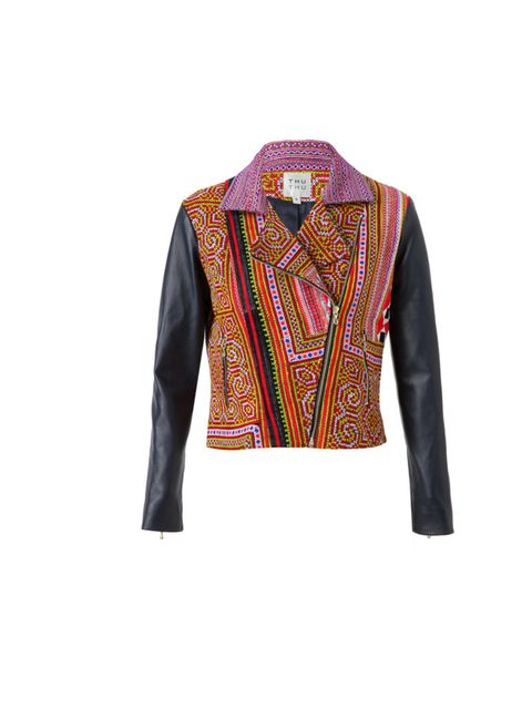 "<p>Thu Thu embroidered biker jacket, £600, at Browns</p><p><a href=""http://shopping.elleuk.com/browse?fts=thu+thu+biker"">BUY NOW</a></p>"