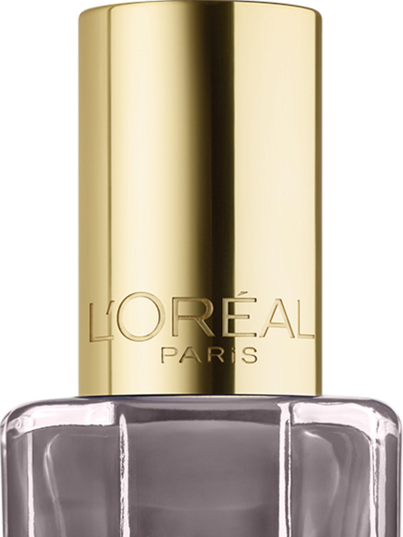 """<p><a href=""""http://www.loreal-paris.co.uk/make-up/nail/nail-polish/color-riche-le-vernis-a-lhuile/664-greige-amoureux"""">L'Oreal Paris Colour Riche L'Huile Nail Polish in Greige Amoureux, £4.99</a></p>  <p>This new nail collection features a formula infused"""