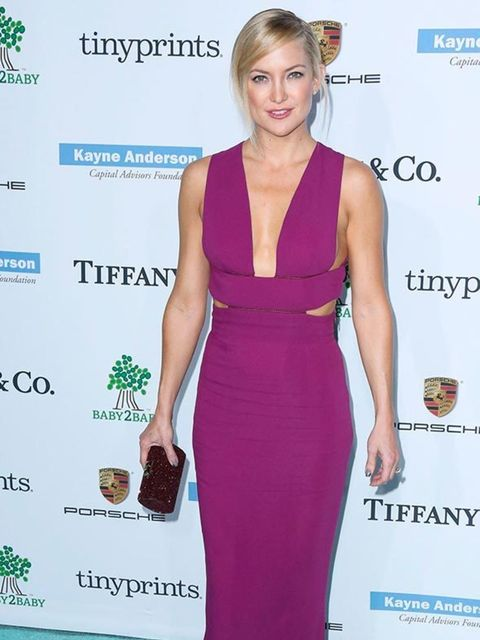 Kate Hudson wore a Stella McCartney gown to the Baby2Baby gala in Los Angeles, November 2014.