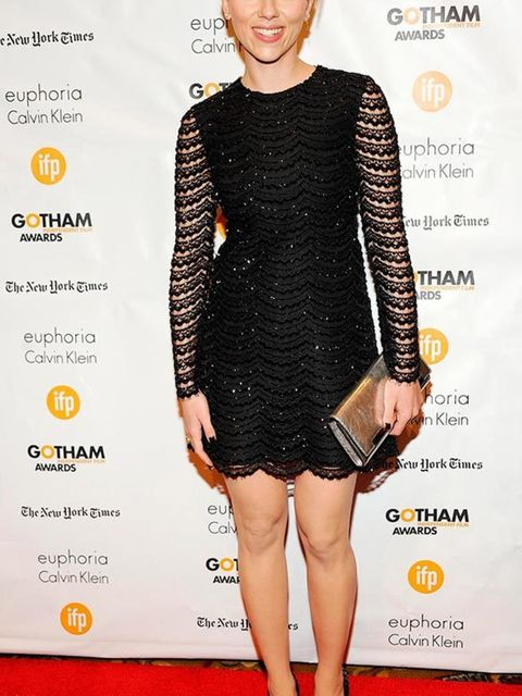 Scarlett Johansson at the 24th Annual Gotham Independent Film Awards, New York December 2014.