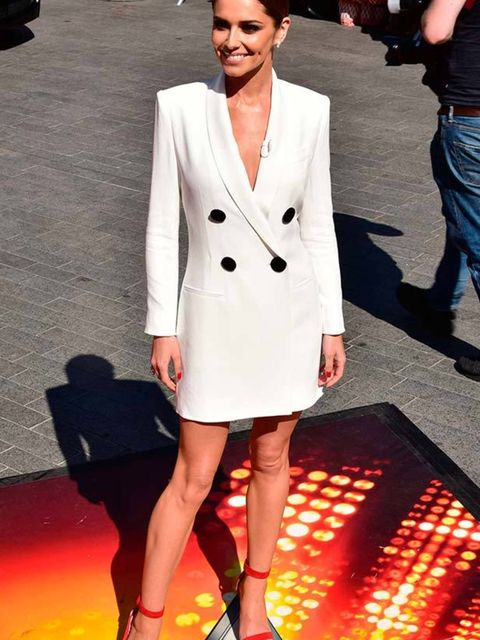 Cheryl Fernandez-Versini at the London auditions of X Factor, July 2015.