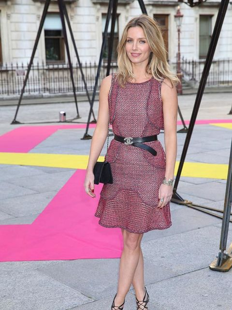 <p>Annabelle Wallis at the Royal Academy of Arts Summer Exhibition on June 3, 2015 </p>