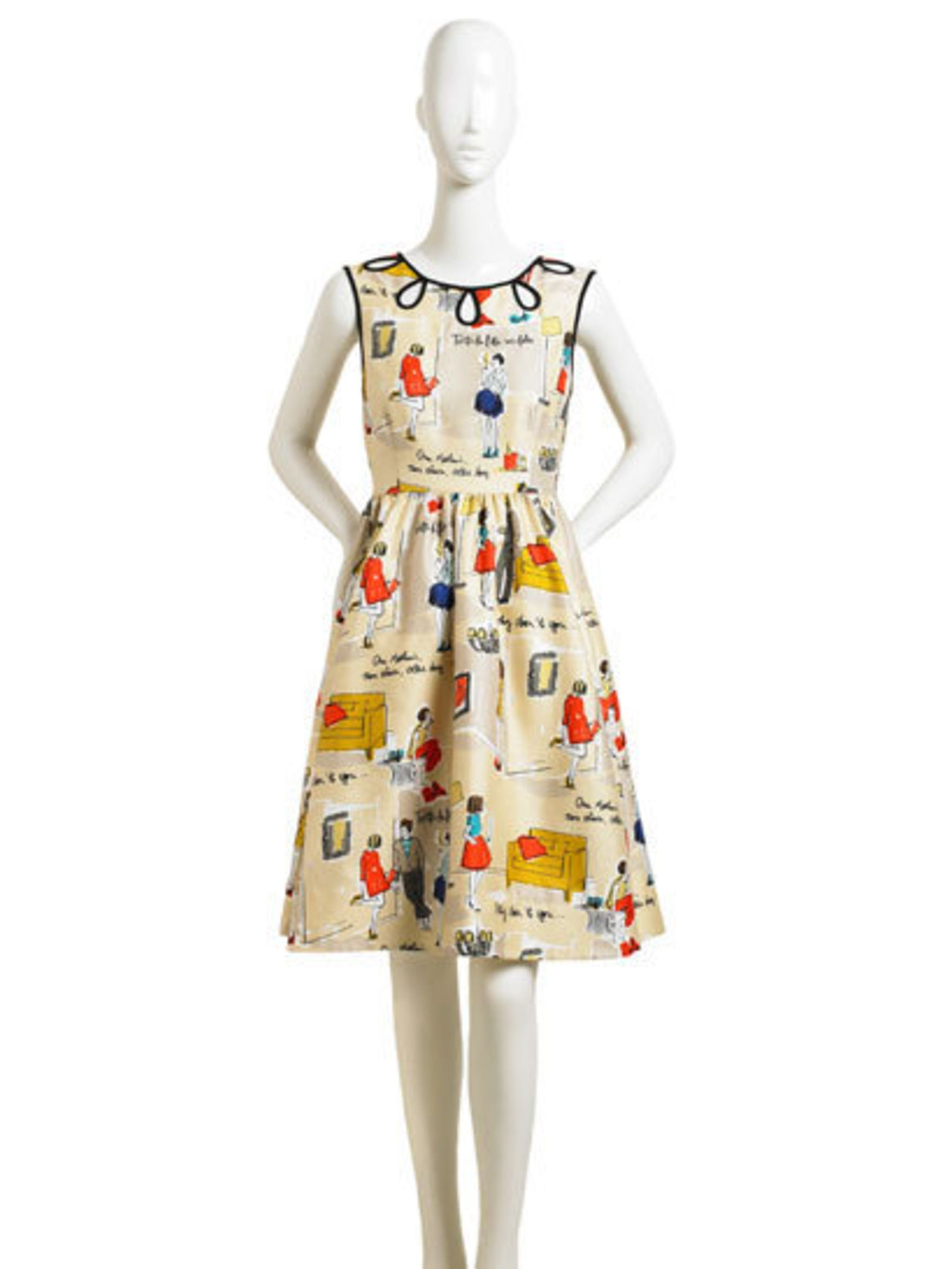 <p>The Rainey Dress from Garance Dore's collection for Kate Spade</p>