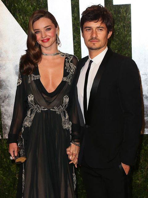 <p>Miranda Kerr and Orlando Bloom<br />