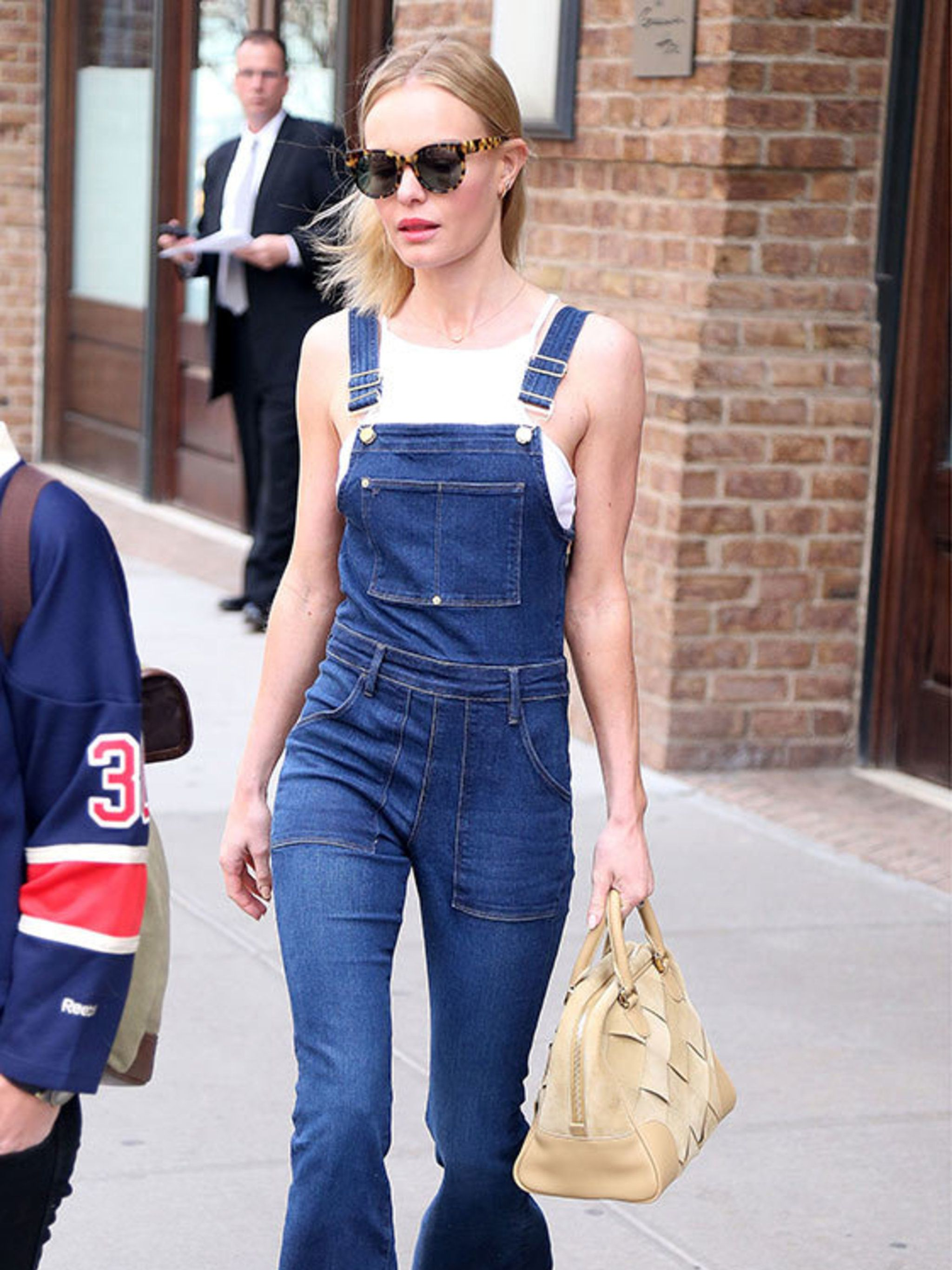 Dungarees Celebrity Fashion Street Style With Hood 10