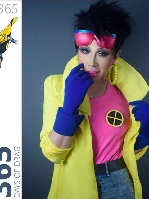 <p>Jubilee from the X-Men</p>