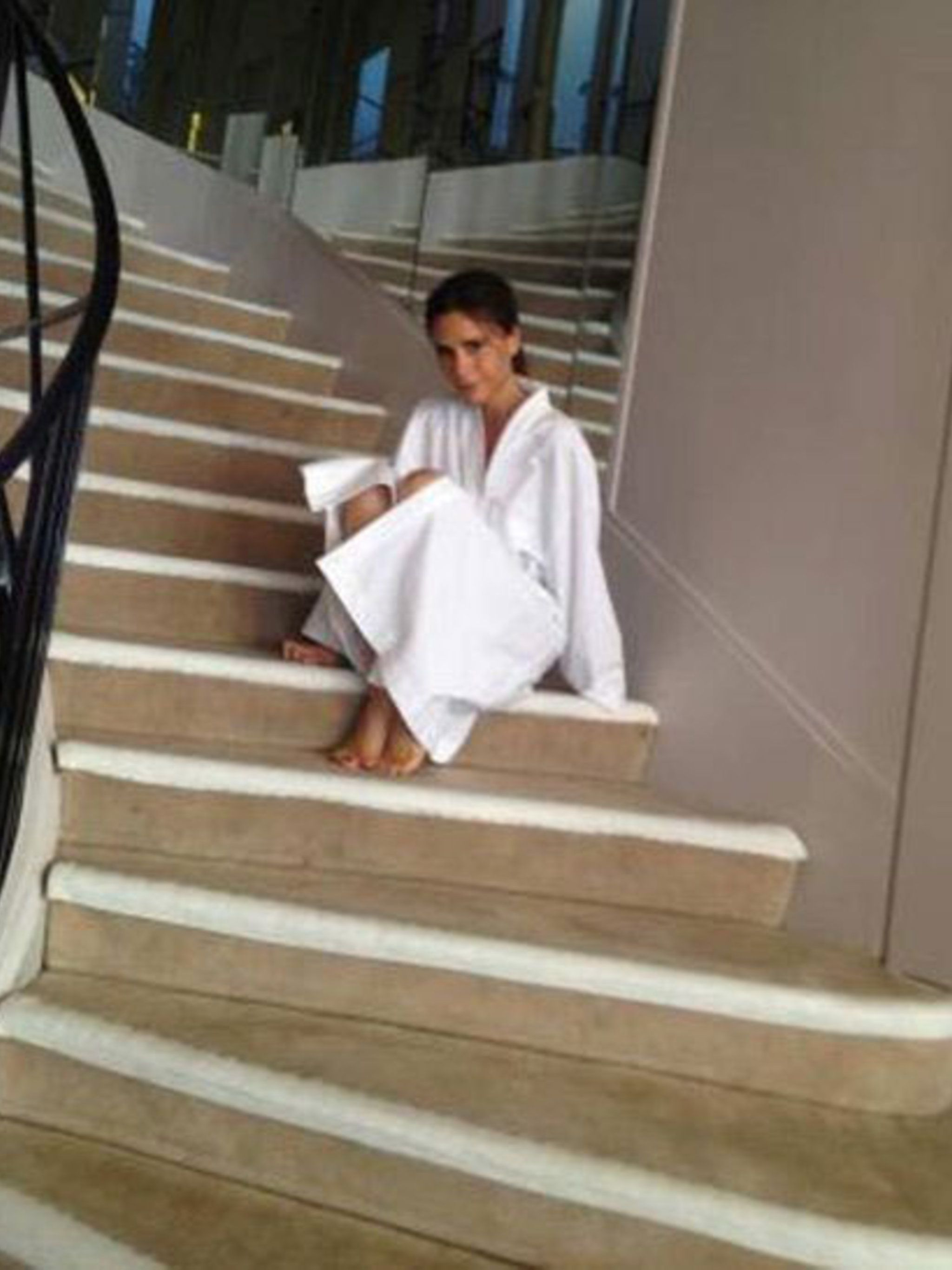 <p>Victoria Beckham at Chanel </p>