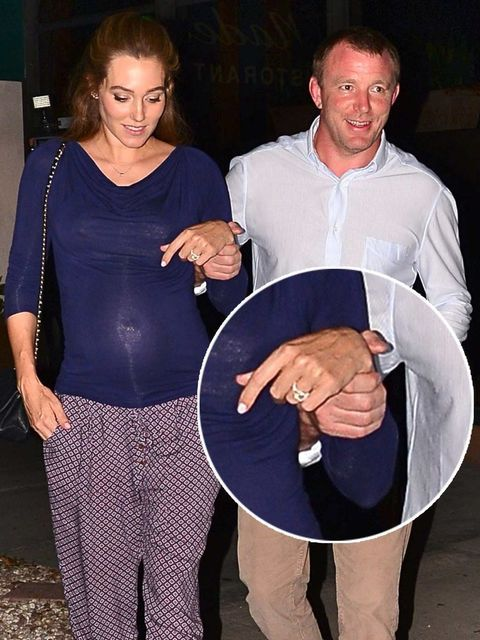 <p>Guy Richie and Jacqui Ainsley announce they are engaged</p>