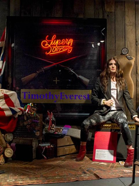 <p>Superdry and Timothy Everest collection</p>