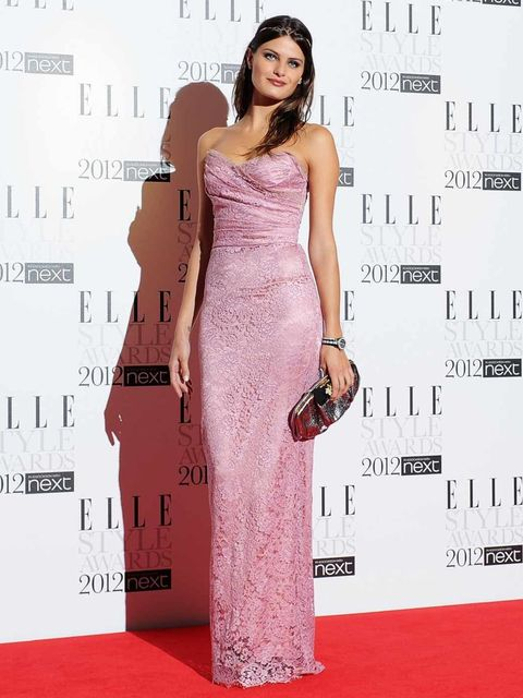 <p>Isabeli Fontana at the 2012 ELLE Style Awards</p>