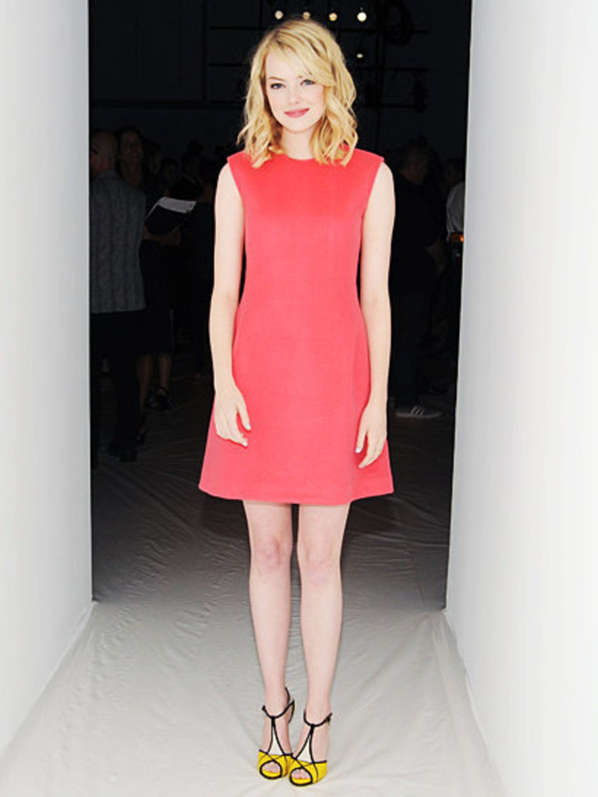 "<p><a href=""http://www.elleuk.com/star-style/celebrity-style-files/emma-stone"">Emma Stone</a> at the <a href=""http://www.elleuk.com/catwalk/designer-a-z/calvin-klein-collection/spring-summer-2013"">Calvin Klein Collection</a> show in New York</p>"